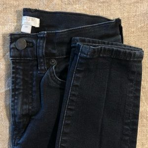 J. Crew stretch high waisted skinny jeans